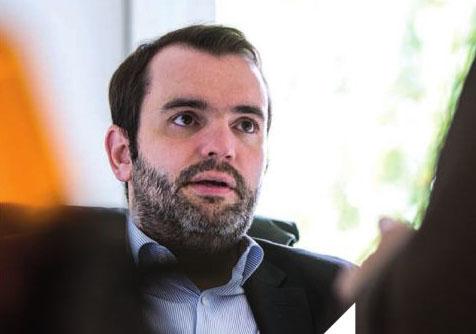 Matthieu Thibault, président d'Aviti.