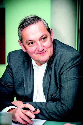 Portrait d'Olivier Poelaert - Président de Cyllene