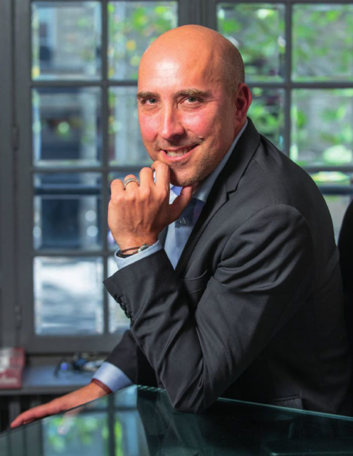 portrait de Christophe Chamy
