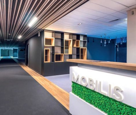 Hall d'accueil Mobilis - Magazine E.D.I
