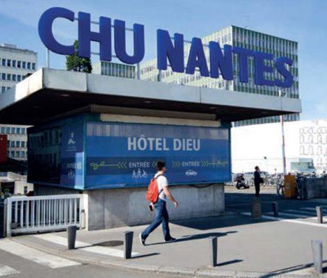 Entrée du CHU de Nantes