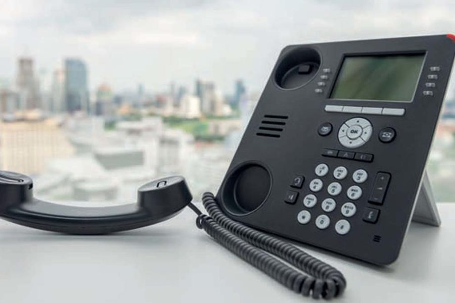 telephone fixe decroche
