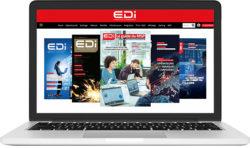 Consultation des versions digitales du Magazine E.D.I depuis un portable