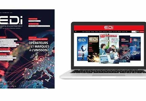Couverture Magazine print + consultation web Magazine EDI