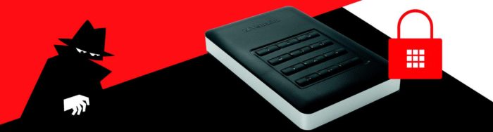 disque dur externe et sécurité