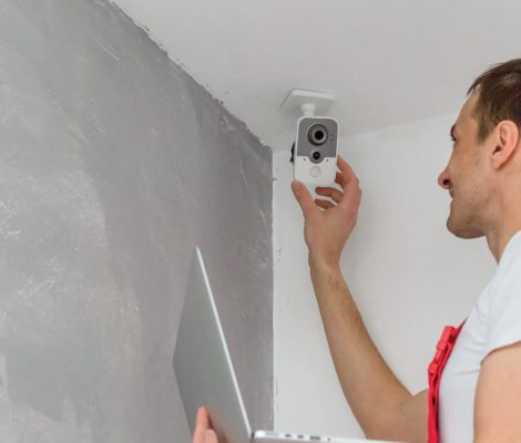 Reglage d'une camera de videosurveillance