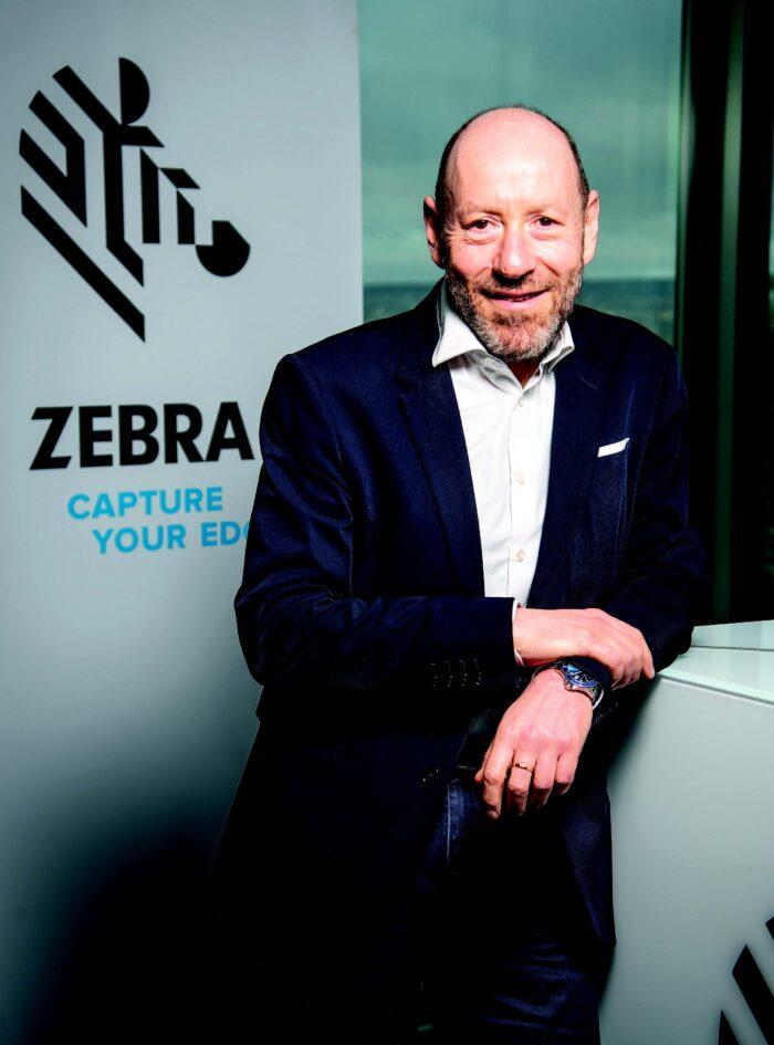 Portrait de Thierry Vasseur Zebra