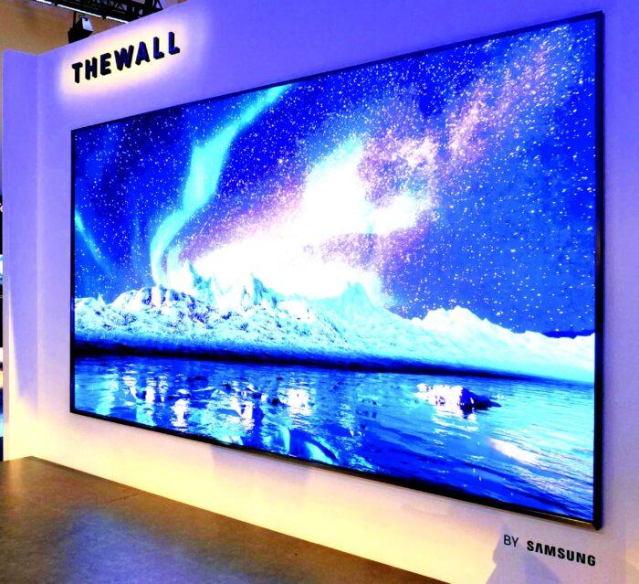 The Wall par Samsung